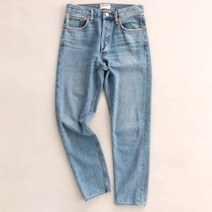 AGOLDE Feel Good Light Wash High Rise Jeans 27